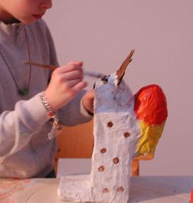 schlagholz für keramik